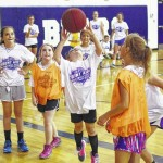 Lady Bears wrap up hoops camp