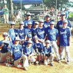 Youth baseball champions