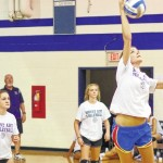 Bears host volleyball scrimmages