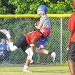 Teams compete in Cats' 7-on-7
