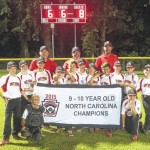 East Surry 9-10 team vies for title