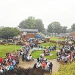 Despite weather, college fair draws crowd