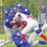 East edges North in 35-32 shootout