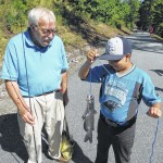 Anglers reel in fun at fishing event.