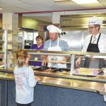 Surry County Schools Board of Education visits Gentry Middle School