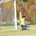 Bishop McGuiness edges Mount Airy in soccer shootout