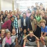 MACS visits Raleigh, meets governor