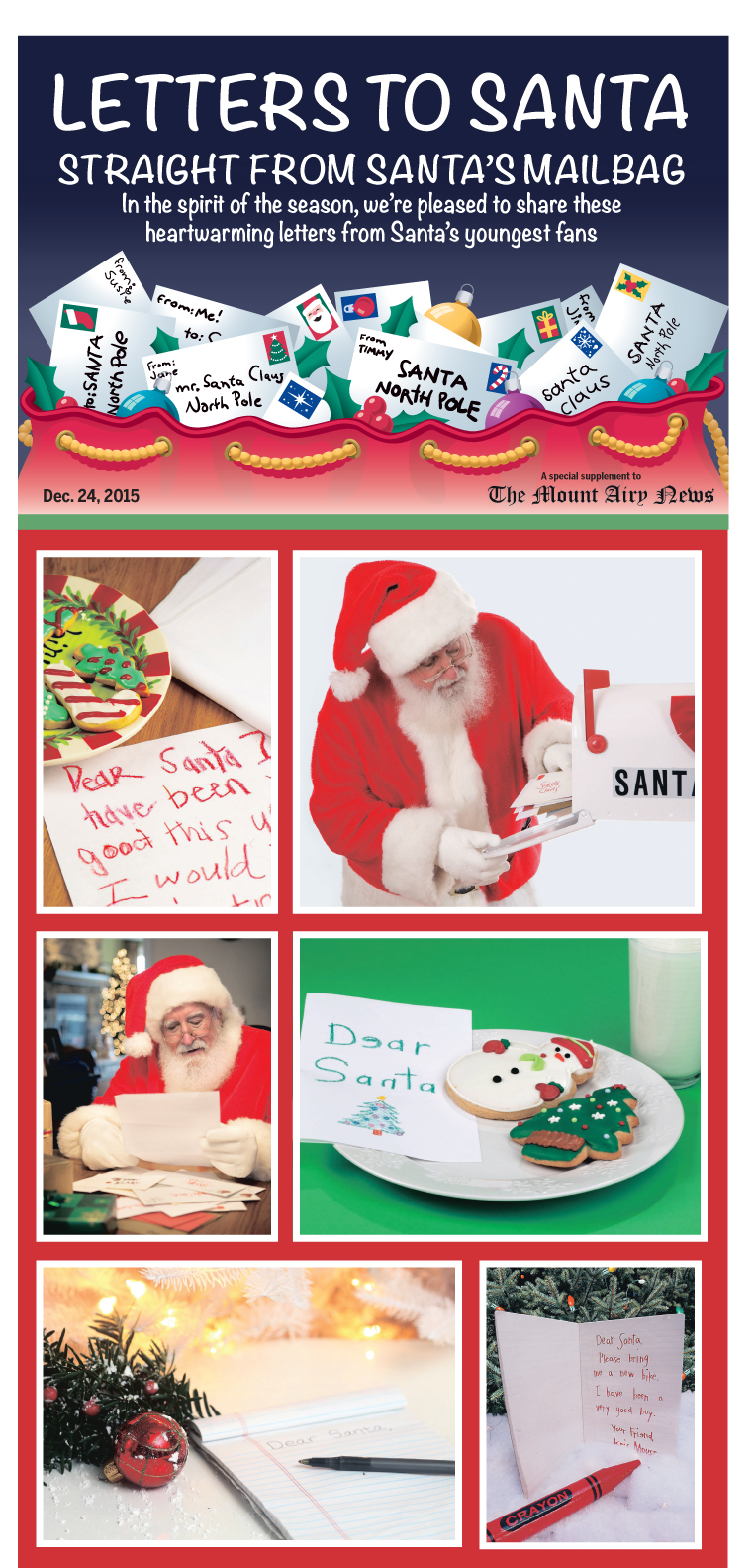 2015 Christmas Greetings Mt Airy News