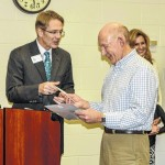 School board honors East Surry fire hero