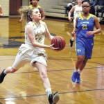 Lady Eagles advance with rout
