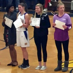 Six local players win all-conference in WP girls