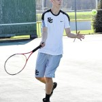 Eagle tennis nipped by W. Stokes