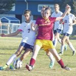Good fortune smiles on Lady Bears