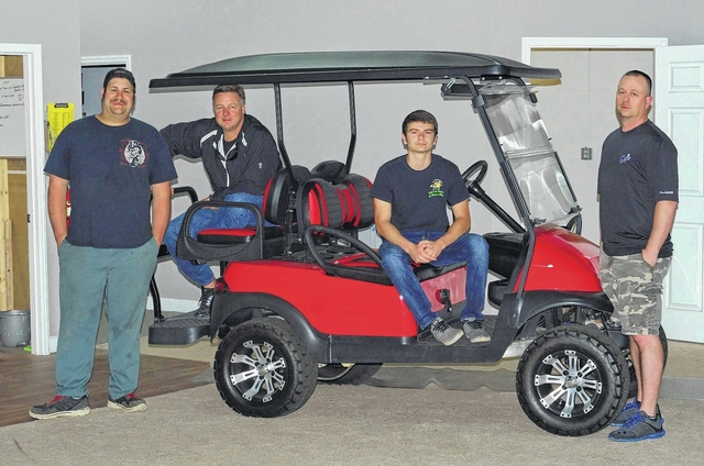 Golf Cart Outlet Of Mount Airy Is Planning A Ribbon Cutting This Month On Its New Status As Club Car Authorized Dealer Among Those Working At The