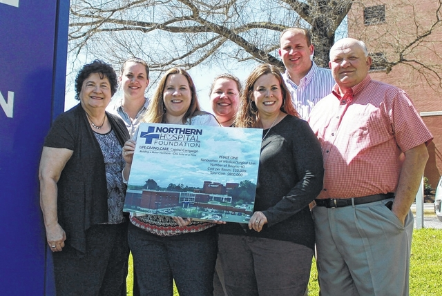 Johnsons Make Pledge To Hospital Mt Airy News