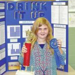 Students shine at science fair