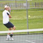 Bear tennis reaches elite eight