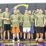 SCC students, staff hoop it up for troops