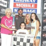Myers, Butner win chippy Bowman Gray races