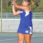 Lady Hounds win third straight match
