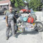 North American motorcycle tour leads to Mount Airy