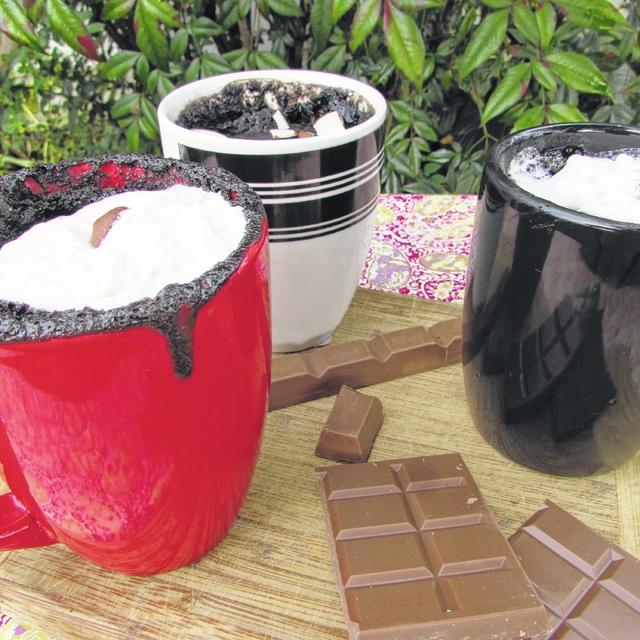 Hot Chocolate Brownie Mug Cake