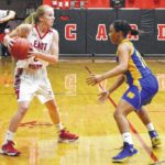 Lady Hounds spoil Lady Cards' debut