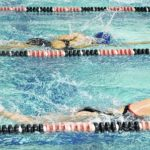 MA swimmers split with Atkins