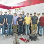 SCC machining students visit racing team