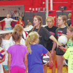East Surry hosts volley camp