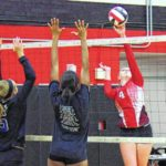 Lady Cards host volleyball scrimmages