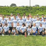 Greyhounds host youth football camp