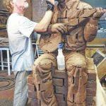 Sculpture project taking shape