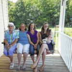 Five generations of Surry ladies
