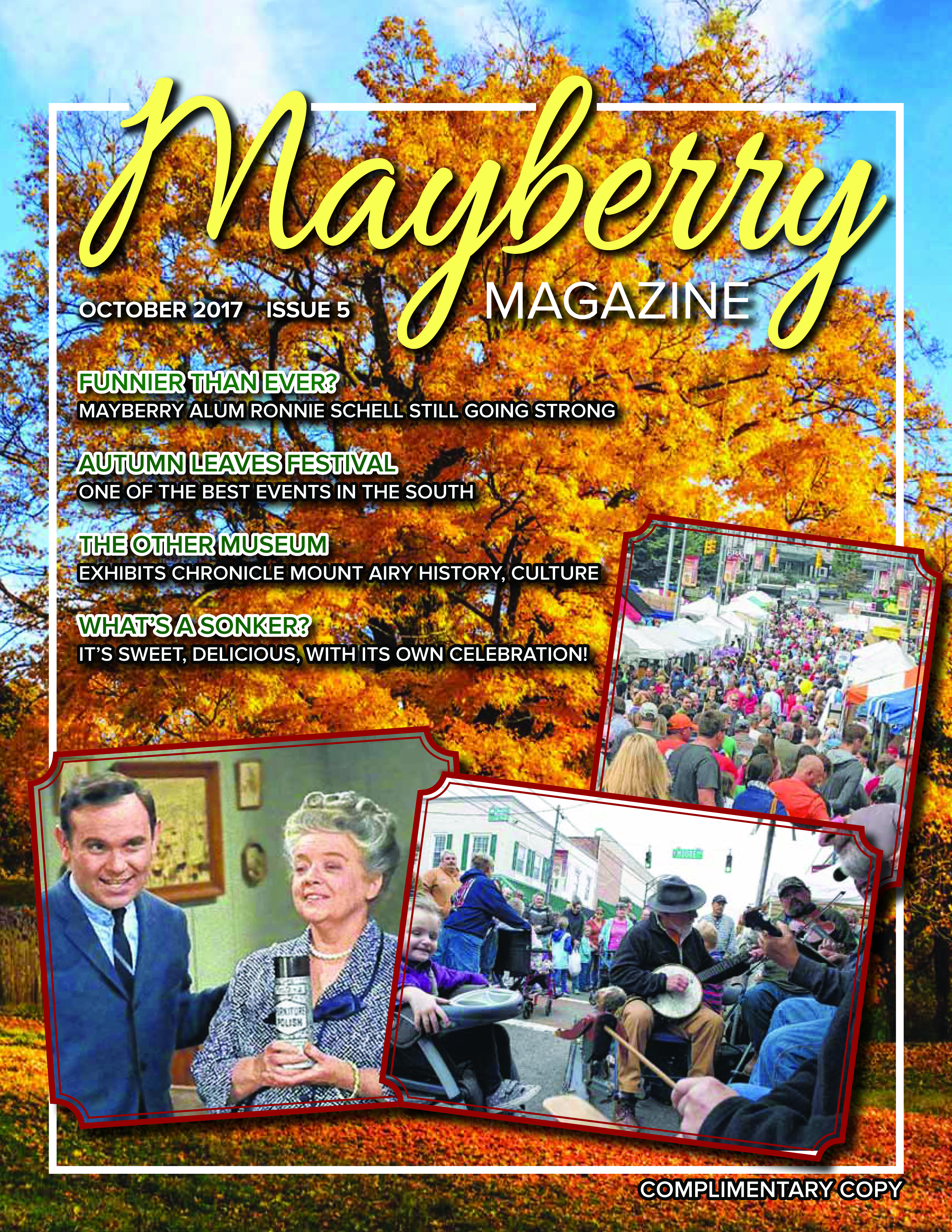 Mayberry Magazine October 2017