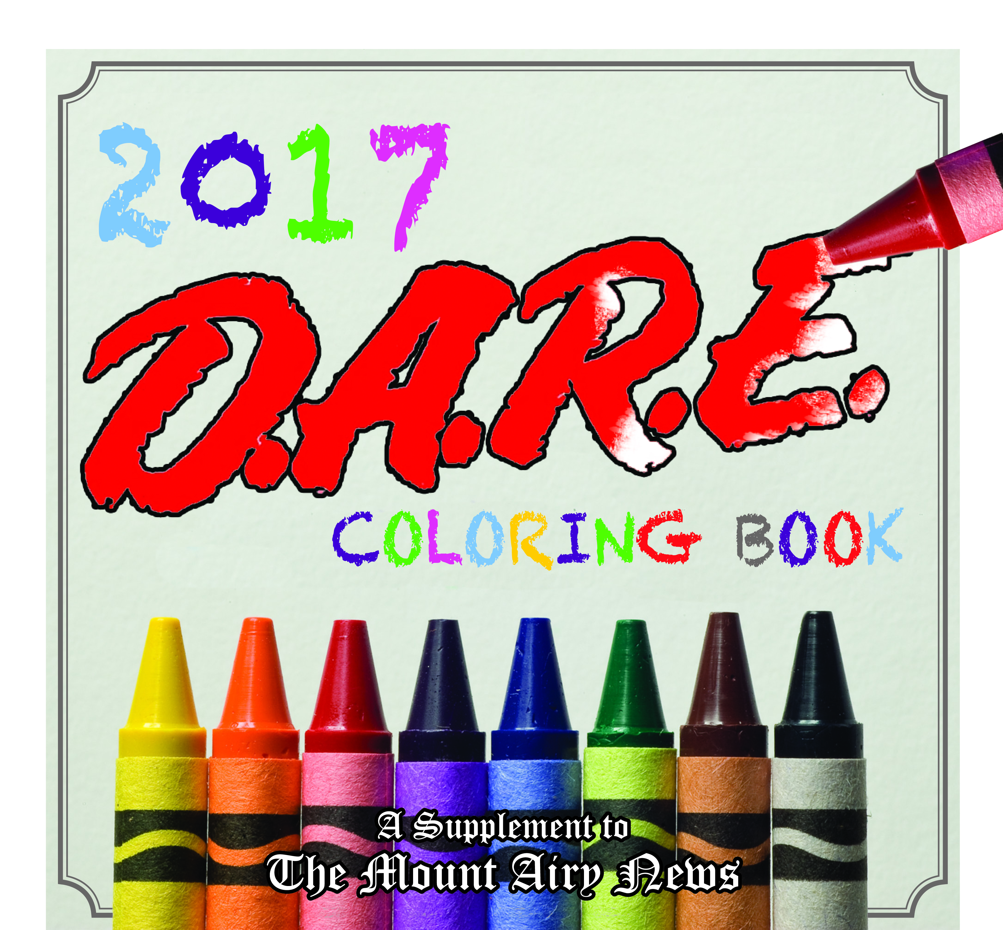 Mount Airy Dare Coloring Book