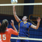 Lady Hounds sweep to West Regional final
