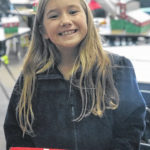 Franklin students pack 30 Christmas boxes