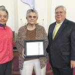 Laity Service Award give to Cary Grymes