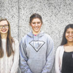Three receive Bledsoe scholarships