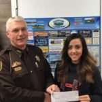 Campground donates to sheriff's Christmas fund