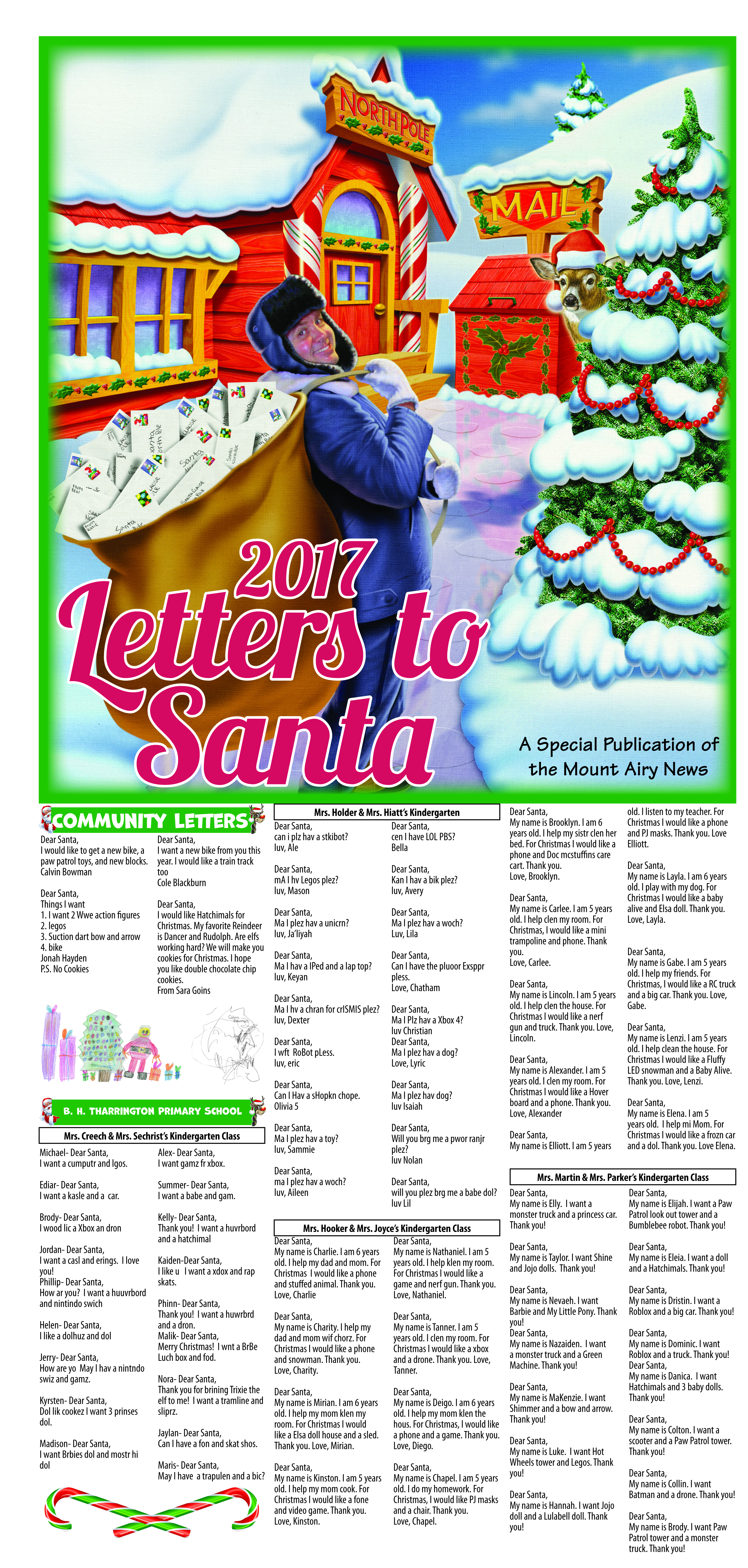 Mount Airy Letters to Santa