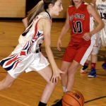 Lady Pats win two of three to end '17