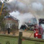 Wrecked chicken truck cuts power in Dobson area
