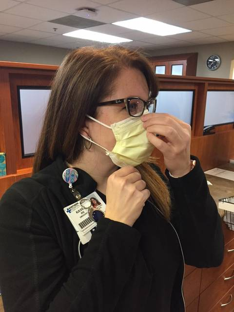 surgical mask flu