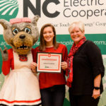 Local youth honored at Wolfpack game