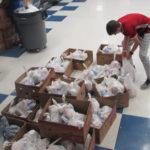 Rotary, Interact fill 1,000 backpacks