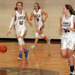 Surry girls rally to earn 20th victory