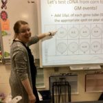 Students learn about genetic engineering
