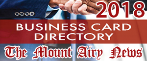 2018 Mt. Airy Business Card Directory